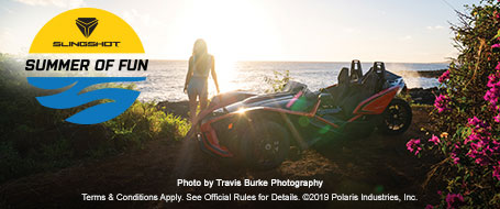 Win A Polaris Slingshot Experience on The Road To Hana