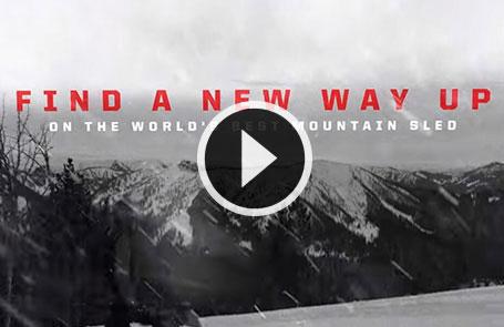 Publicité de motoneiges Polaris<sup>®</sup> de 2019 - Montagnes