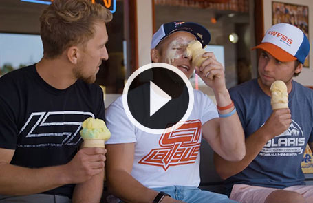 WFSS - Levi LaVelle Reveals His Ice Cream Secret