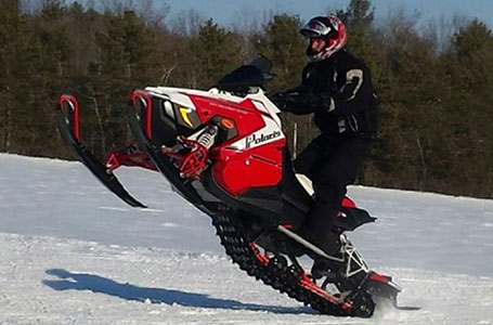 Polaris Snowmobiles Rush