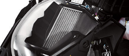 Cooling System with Radiator