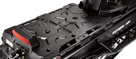 Integrated Lock & Ride® Versa Storage Platform