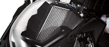 Radiateur avec système de refroidissement