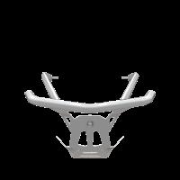 AXYS® Monarch Front Bumper - White