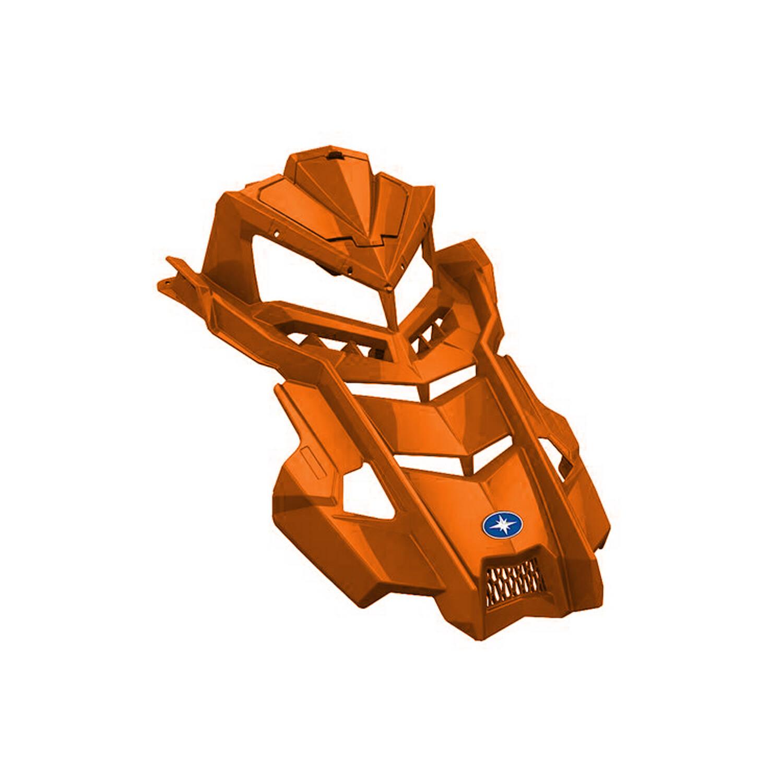 Painted Hood - Orange Burst