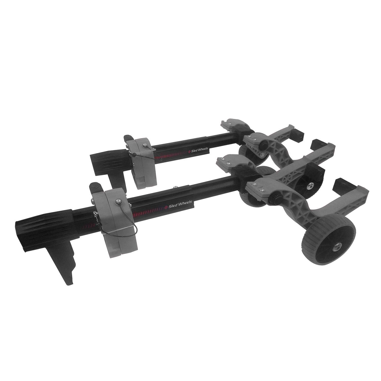 Caliber Ski Wheels - Gray
