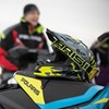 509® Altitude Adult Moto Helmet with Camera Mount, Lime - Image 2 of 4