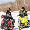 AXYS Snowmobile Low Windshield, Black - Image 3 of 3