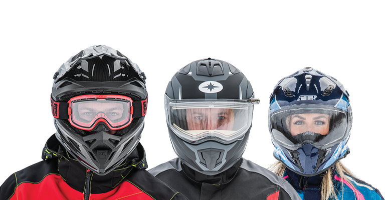 Three Helmet Images