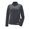 Women's Full-Zip Mid Layer Jacket with White Polaris® Logo, Gray - Image 1 of 3