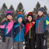 Youth Waterproof Snow Glove, Black - Image 3 de 5