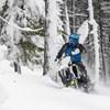 509® Altitude Adult Moto Helmet with Camera Mount, Blue - Image 3 of 5