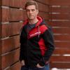 Men's Full-Zip Hoodie Sweatshirt with Polaris Logo, Black - Image 2 of 5