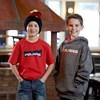 Youth Racing Hoodie Sweatshirt with Polaris® Logo, Gray - Image 2 of 2