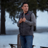 Men's Heated Vest with Rechargeable Battery, Dark Gray - Image 2 of 7