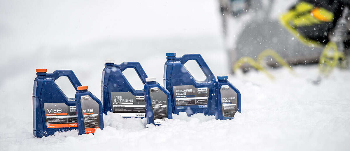 RUN THE ONLY LUBRICANTS DEVELOPED WITH AND FOR YOUR SLED