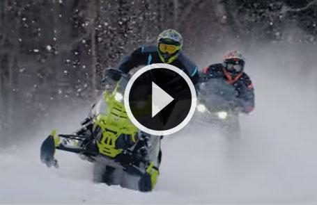 2020 Polaris<sup>®</sup> Snowmobiles - Born for More