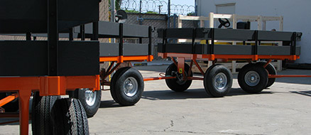 Taylor Dunn Tow Trailers