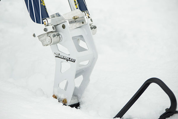 Snow Bike Accessories Polaris Timbersled Accessories