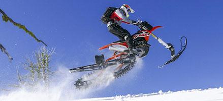 Dirt Bike Snowmobile >> Timbersled Is An Awesome Cross Between A Dirt Bike And A Snowmobile
