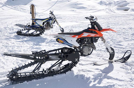 Get Your Winter Adrenaline Rush on a TIMBERSLED