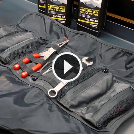 Accessoires: Sacoche à outils enroulable