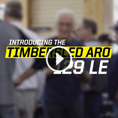 New for 2019 - Timbersled ARO 129 LE
