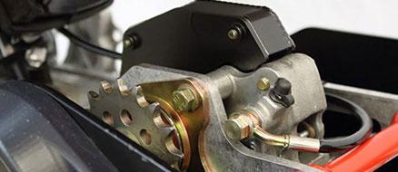 Shielded Brake System